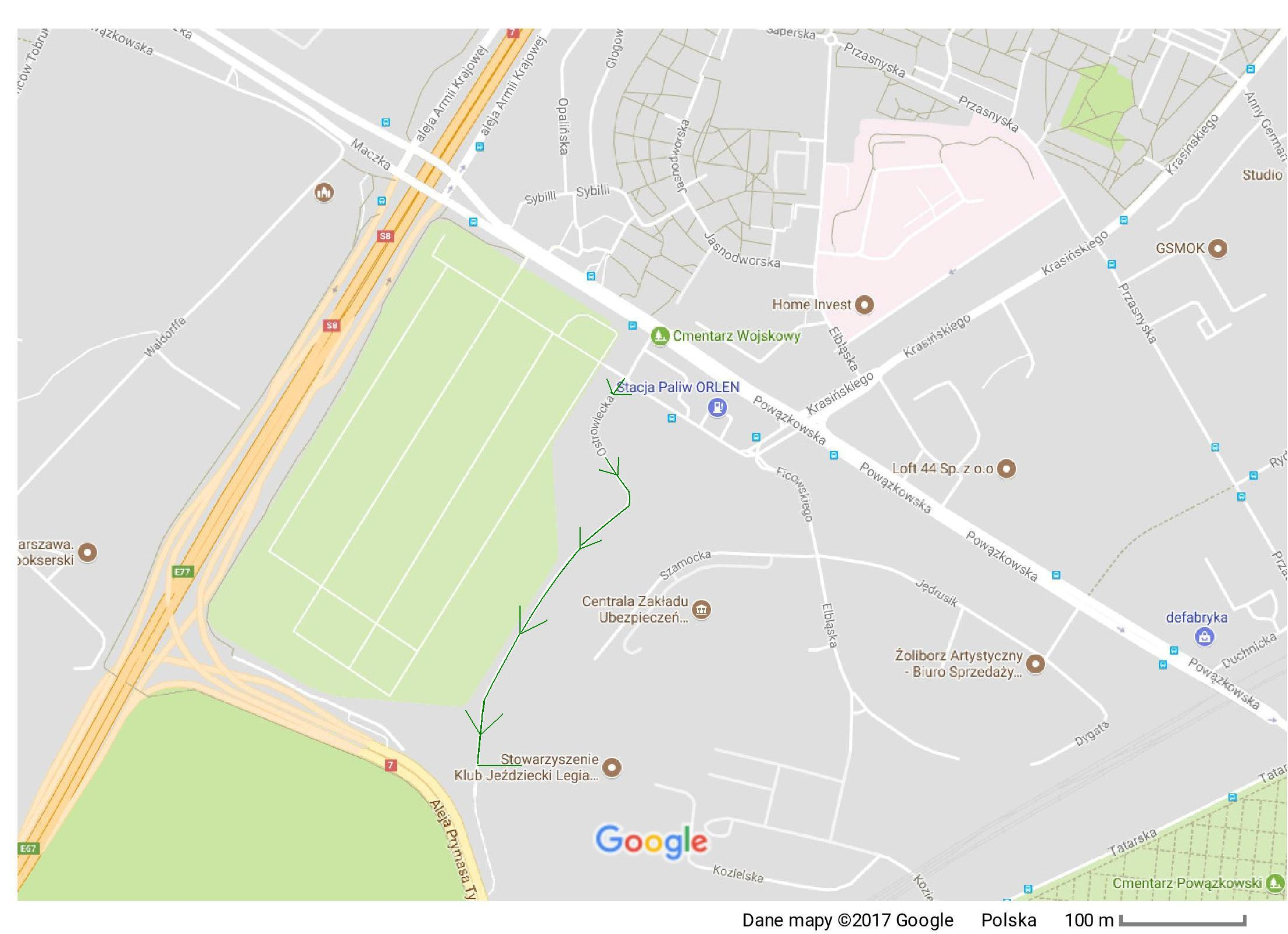 UWAGA!!! Wjazd na teren ośrodka chwilowo odbywa się od ulicy Ostrowieckiej